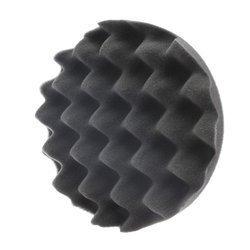 RRC WAVE Czarna Miękka gąbka polerska 135mm / Pad polerski